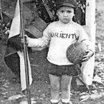 Mladi navijac Aramis Kauzlarić 1923. godine